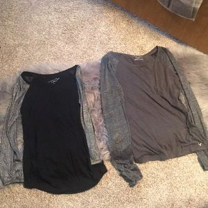 Bundle deal of two American eagle shirts